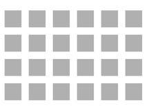 Optische Illusion-verschwindende Punkte grau und weiß stock abbildung