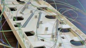 Optische Koppelung ohne Abdeckung lizenzfreies stockbild