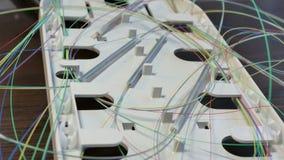 Optische Koppelung ohne Abdeckung stockbild