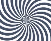 Optische Kunst-Spirale kurvt Dreieck 05 Lizenzfreie Stockfotos