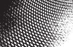 Optische kunst zwart-witte vector als achtergrond Royalty-vrije Stock Foto's