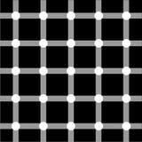 Optische Kunstserie: Rasterfeld Stockbild