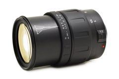 Optische Lens voor (geïsoleerdee) DSLR Royalty-vrije Stock Afbeeldingen
