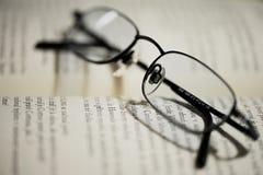 Optische Lesebrille Lizenzfreies Stockfoto