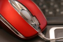 Optische Maus Stockfotografie
