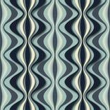 Optische Täuschung: Abstraktes nahtloses Muster Beschaffenheit Stockfotos