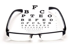 Optische test Royalty-vrije Stock Foto