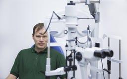 Optische test Stock Afbeeldingen