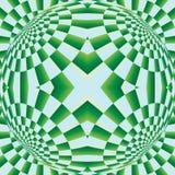Optische uitbreidingsillusie Stock Afbeelding