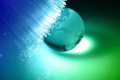 Optische vezel stock fotografie