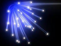 Optische vezel stock illustratie