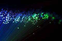 Optische vezel Stock Afbeeldingen