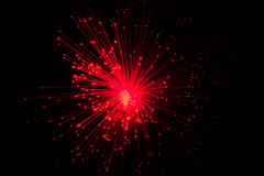 Optische vezel Royalty-vrije Stock Afbeeldingen