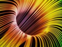 Optische vezelnetwerk vector illustratie