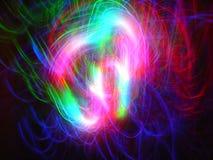 Optische vezels Stock Afbeeldingen