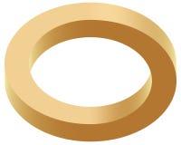 Optischer illustion Ring Stockfoto