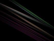 Optischer Kunst-helle StrahlenFractal 10 vektor abbildung