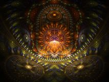Optisches Kunst-Haus des Buddah 01 Lizenzfreies Stockfoto