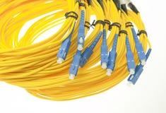 Optisches Netzkabel der Faser lizenzfreies stockbild