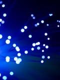 Optisk abstrakt begrepp för fiber Royaltyfria Bilder
