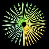 optisk abstrakt illusion Royaltyfria Bilder