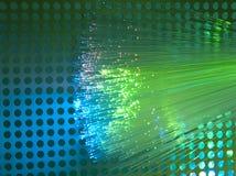 Optisk bakgrund för fiber Royaltyfri Bild