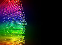 Optisk bakgrund för fiber Royaltyfria Foton