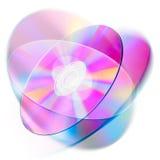 optisk disk stock illustrationer