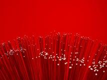 optisk fiber - Royaltyfria Foton