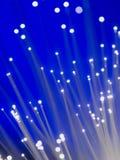 optisk fiber - Arkivbilder