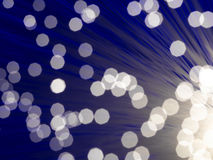 optisk fiber - Arkivfoton