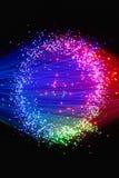 optisk fiber Royaltyfri Bild