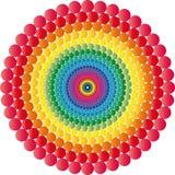optisk illusion Royaltyfria Bilder