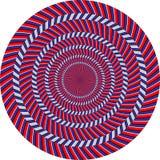 optisk illusion Royaltyfri Bild