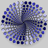 optisk illusion Royaltyfria Foton