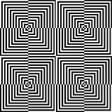 Optisk illusion för hypnotherapy Arkivbild