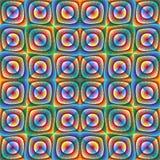 optisk illusionillustration Royaltyfria Foton