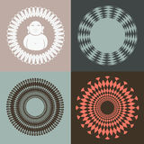 Optisk illusionsamling med Budda Royaltyfri Foto