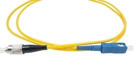 Optisk kabel för fiber royaltyfria foton