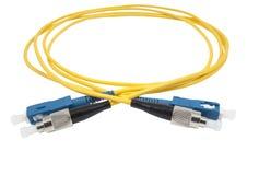 Optisk kabel för fiber royaltyfri fotografi