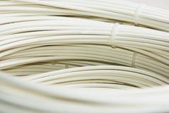 optisk kabelfiber - Royaltyfria Bilder
