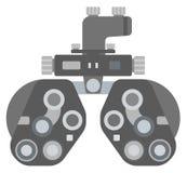 Optisk medicinsk apparat stock illustrationer