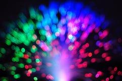 Optisk nätverkskabel för fiber royaltyfria foton