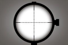 optisk sight Vektorbegreppsillustration för design stock illustrationer