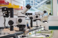 Optiska instrument av kontroll Royaltyfri Foto