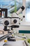 Optiska instrument av kontroll Fotografering för Bildbyråer