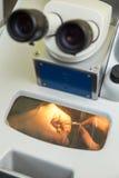 Optiska instrument av kontroll Arkivfoton