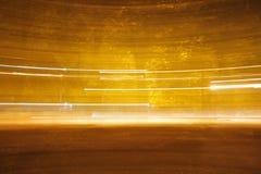 optiska ljusa linjer för fibrer Royaltyfria Bilder