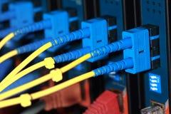 optiskt för kabelfiber Royaltyfri Foto