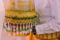 Optocht van de bruidegom` s ouders Stock Afbeelding